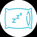 application de l'aimant pour le sommeil